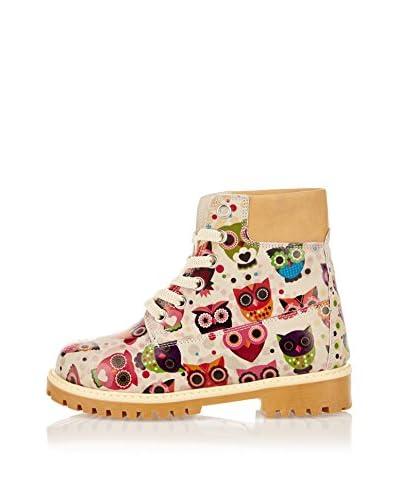 Goby Kids Botas de Cordones Gk5003