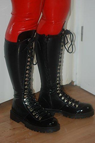 Latex Stiefel Boots Kniehoch Handgefertigt