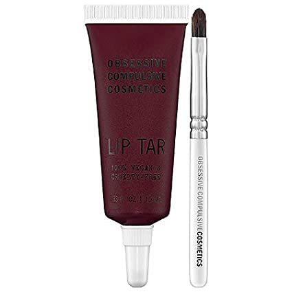 Obsessive-Compulsive-Cosmetics-Moderncraft-Lip-Tar-Collection-0-33-oz-Black-Metal-Dahlia-blackened-burgundy-with-red-pearl-