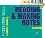 Reading and Making Notes (Pocket Stud...