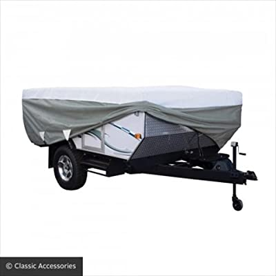 Classic Accessories C1H38143106 PolyPRO 3 Fold Camper Cover, 8' - 10'