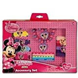 Disney Minnie Bowtique 18 Piece Accessory Box Set with Jewelry