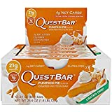 Pumpkin Pie Quest Bars 12 Pack of Delicious Protein Bars Limited Time