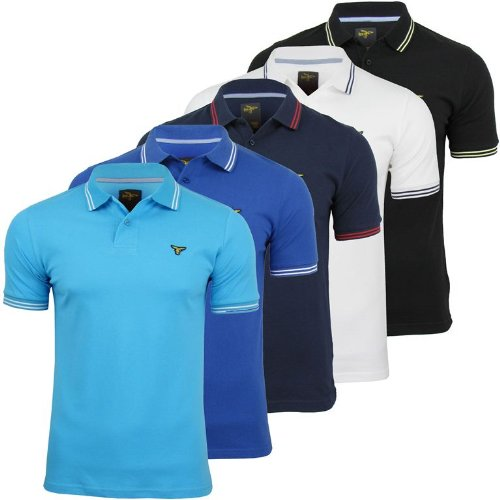 Le Breve Mens 'PK Polo' Polo T Shirt Short Sleeved [Small]