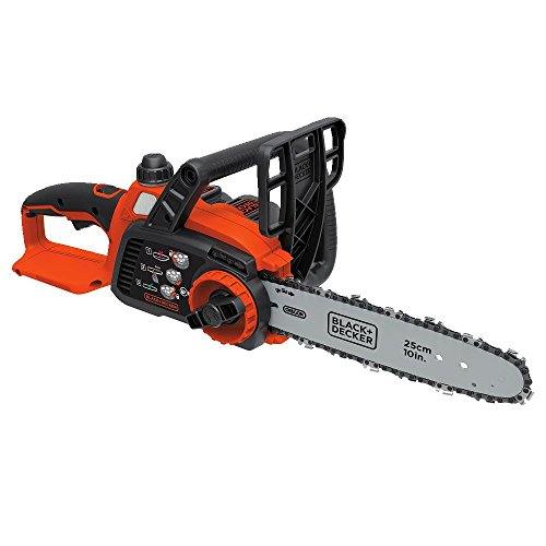 Black & Decker LCS1020 20V Max Lithium Ion Chainsaw, 10-Inch