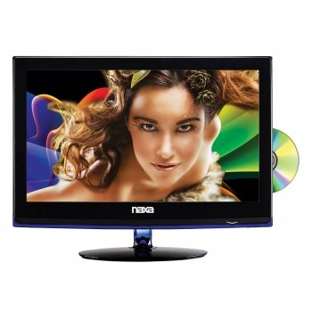 """Naxa 16"""" Widescreen Hd Led Television With Built-In Digital Tv Tuner& Usb/Sd Inputs& Dvd Player"""