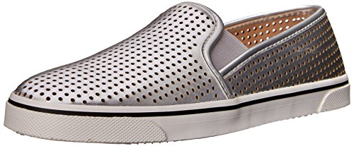 Dv By Dolce Vita Women'S Gibsin Fashion Sneaker, Silver, 7 M Us