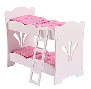 Amazon Com Kidkraft Little Doll Bunk Bed Toys Amp Games