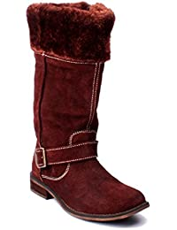 Wilywinkies Boots For Women - Brown Color - 516