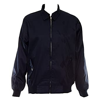 Banned Harrington Jacket (Blue) - X-Small