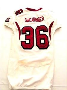 Autographed DJ Swearinger game used South Carolina Gamecocks jersey by Man+Cave+Pro+Memorabilia