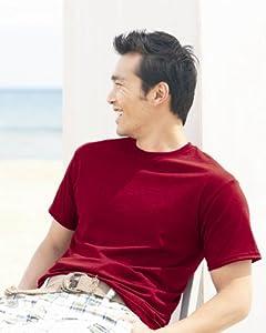 Hanes Youth 6 oz. Tagless T-Shirt, Cardinal, XS