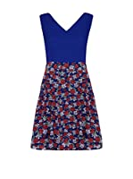 Iska Vestido (Azul Royal)