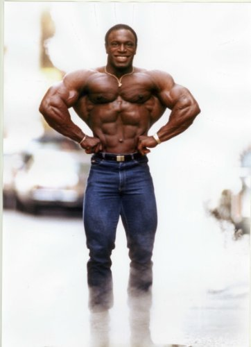 Lee Haney Mr Olympia 1984 -1991 Bodybuilding Poster Approximate size 11.7
