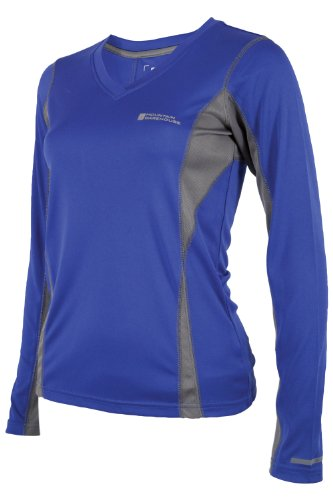 Mountain Warehouse Swish Womens Long Sleeve V-Neck Tee Shirt