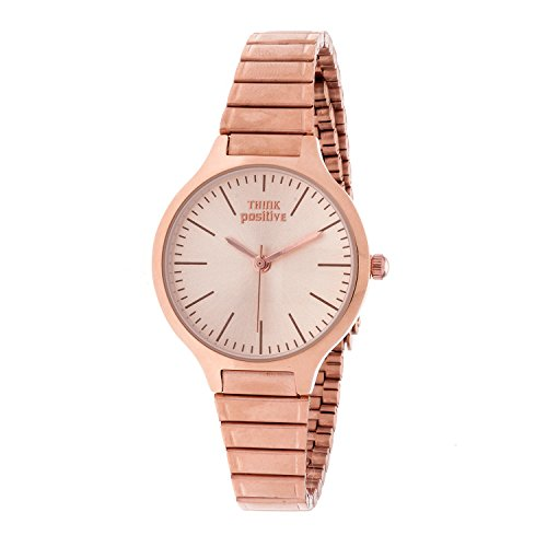 ladies-think-positiver-model-se-w97-classic-small-total-rose-steel-strap