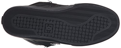DC Men's Spartan High Wc SE Skateboarding Shoe, Black, 13 M US