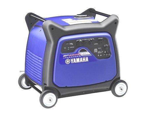 Yamaha ef6300isde 6300 watt 357cc ohv 4 stroke gas powered for Yamaha inverter generator 4500