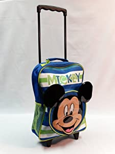 Disney Mickey Mouse Novelty Wheeled Bag from Trade Mark Collections