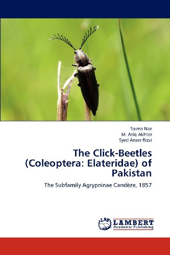The Click-Beetles (Coleoptera: Elateridae) of Pakistan: The Subfamily Agrypninae Candèze, 1857