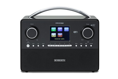 Roberts Stream93i DAB/DAB+/FM/ Internet Stereo Sound System with 3 Way Speaker System