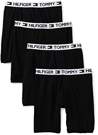 Tommy Hilfiger Men's 4 Pack Boxer Brief at Amazon Men's Clothing