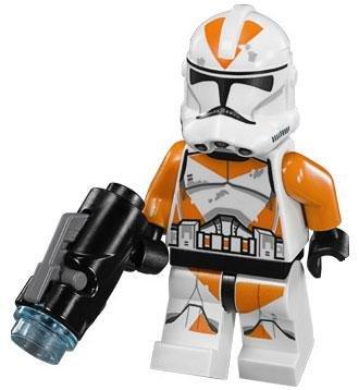 LEGO Star Wars LOOSE Minifigure Utapau 212th Battalion Clone Trooper with Firing Blaster - 1