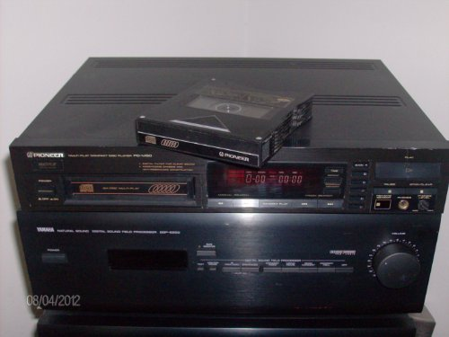 Pioneer PD-M423 Multi Play Compact Disc Player 6 Disc Multi Play Pulseflow D/a Converter