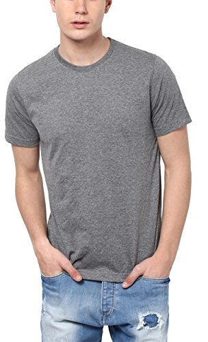 Aventura Outfitters Round Neck Anthra Melange T-Shirt - S (AOTE04-S)