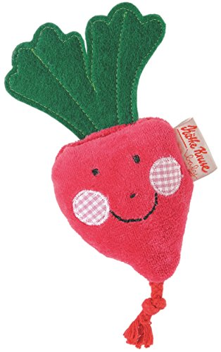 Kathe Kruse In The Garden Toy Figures Set, Flower and Radish, 2 Piece