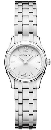 Hamilton H32261115 - Reloj de cuarzo para mujer, correa de acero inoxidable color plateado