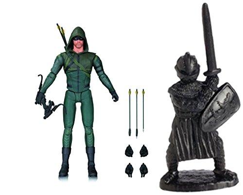Super Hero Arrow TV: Arrow Season 3 Action Figure & Free Guardian Knights Action Figure Set 36-Piece, Colors may vary Toys