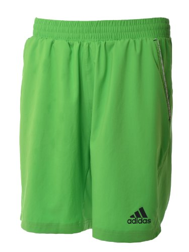 Adidas adiZERO Mens Bermuda Tennis Shorts - Green - V39032