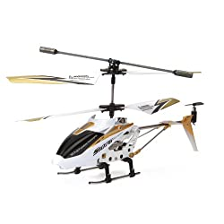 [Best price] Puzzles - Syma S107G 3.5 Channel RC Helicopter with Gyro, White - toys-games