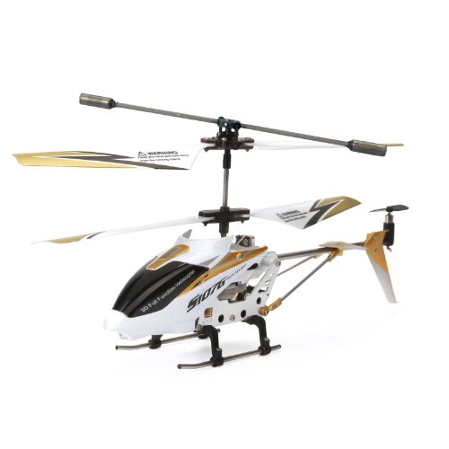 Syma S107G 3.5 Channel Rc Helicopter With Gyro, White