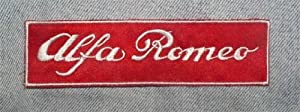 Alfa Romeo Motorsport Car Racing Clothing Polo Jacket Shirt Embroidered Iron on Patch