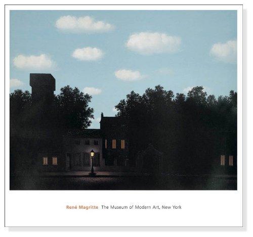 ポスター ルネ マグリット 光の帝国 1950