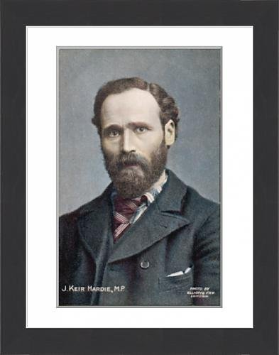 framed-print-of-james-keir-hardie-postcd