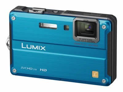 Panasonic デジタルカメラ ルミックス スプラッシュブルー DMC-FT2-A