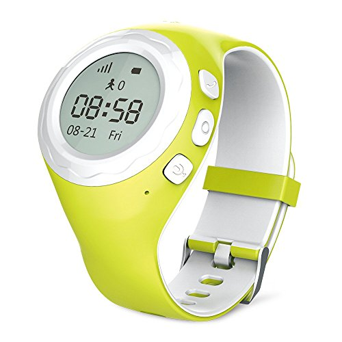 WATCHU-G2-GRE-WATCHU-GPS-Tracking-Smart-Watch-for-Kids-Grasshopper-Green