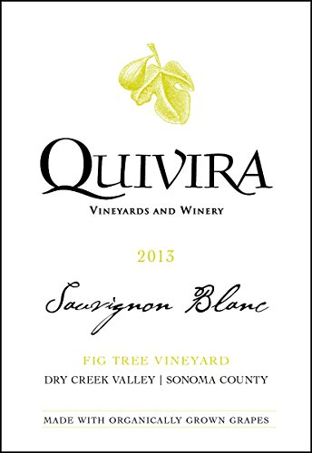 2013 Quivira Vineyards Fig Tree Vineyard Sauvignon Blanc, Dry Creek Valley 750 Ml
