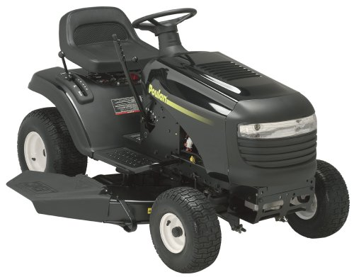 Poulan Lawn Tractor with 38-Inch Steel Deck, 15.5 HP Briggs & Stratton Engine, 5 Speed Transmission and 18-Inch Rear Tires