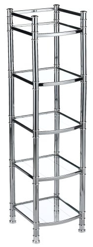 zenith studio accents linen tower chrome