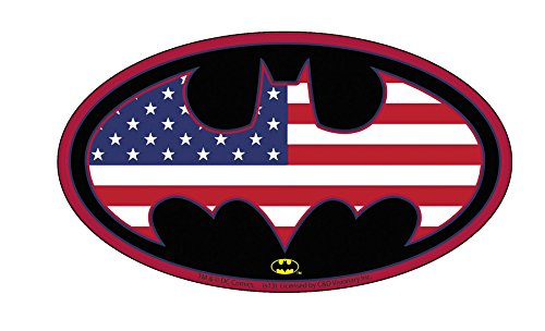 Licenses Products DC Comics Batman US Logo Sticker