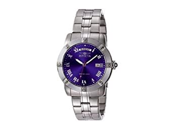 Invicta II Collection 5259 Quartz Sapphire Coated Mineral Blue Dial Stainless Steel Plating Stainless Steel Band Men's Watch