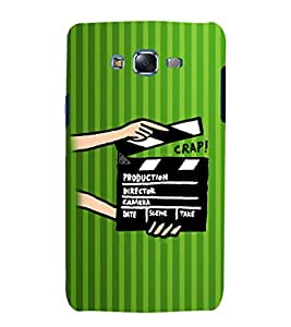 ifasho Designer Phone Back Case Cover Samsung Galaxy J7 J700F (2015) :: Samsung Galaxy J7 Duos (Old Model) :: Samsung Galaxy J7 J700M J700H ( Green Pilot Air Hostess Aviator Colorful Pattern Design )