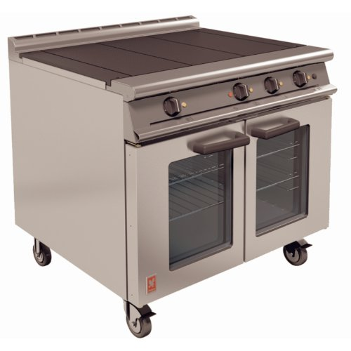 Falcon Dominator Plus Heavy Duty Electric Oven Range / Commercial Kitchen Restaurant Cafe