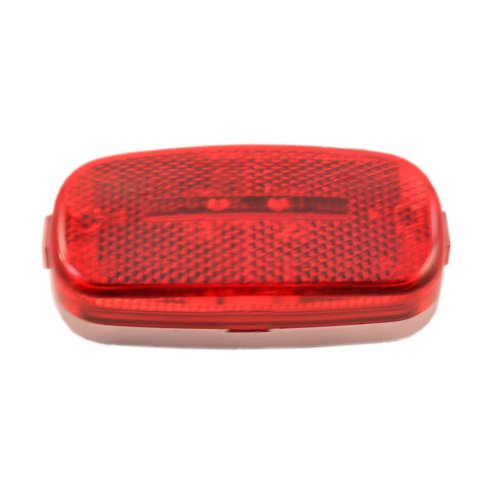 Led Red Maker/Running Light With 9 Leds-4X2 Inch Reflex Lens