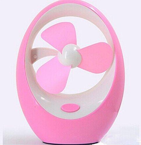 Tigervivi New Idea Usb Mango Shape Portable Mini Fan Hand-Held Fan (Pink)