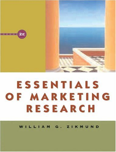 Essentials of Marketing Research (with WebSurveyor